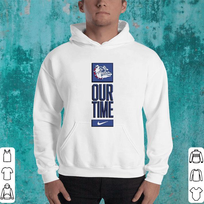 Gonzaga Bulldogs logo basketball Our Time 2020 shirt ...Gonzaga Basketball