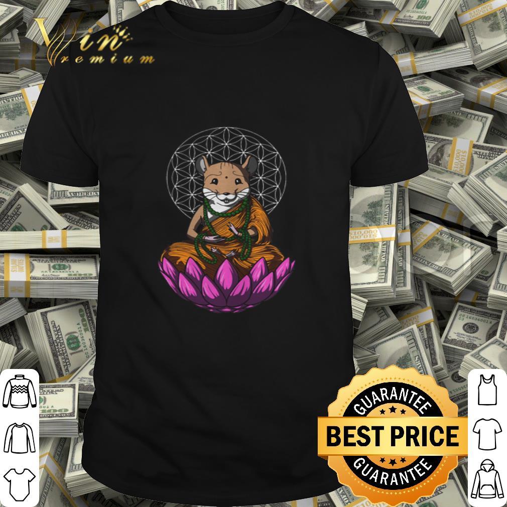 Hamster mashup Buddha shirt