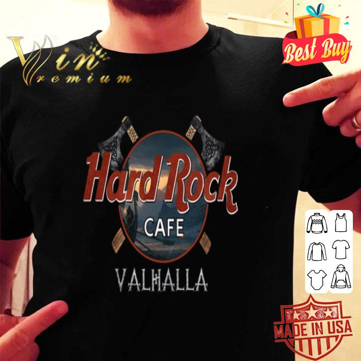 Hard Rock cafe Valhalla viking shirt