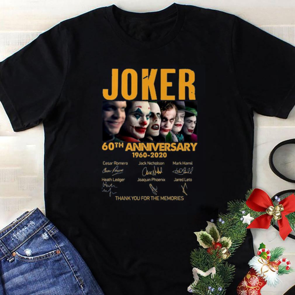 Joker 60th Anniversary 1960 2020 Signature Thank You For The Memories 1