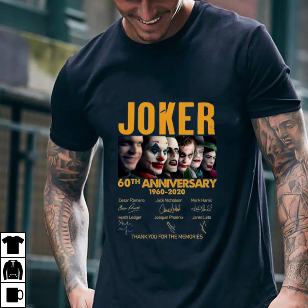 Joker 60th Anniversary 1960 2020 Signature Thank You For The Memories