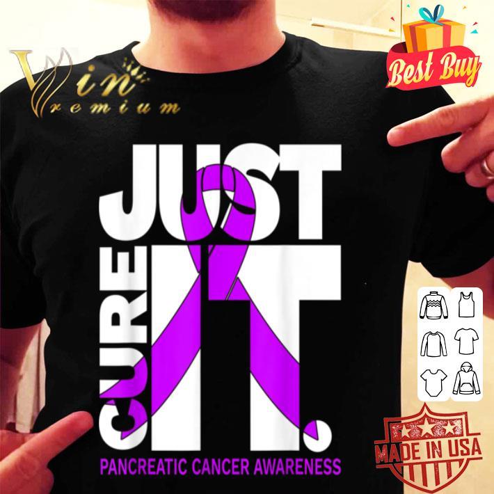 Just Cure Pancreatic Cancers Ribbon shirt