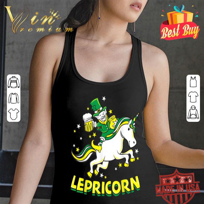Lepricorn - Funny Leprechaun Unicorn St Patricks Day shirt