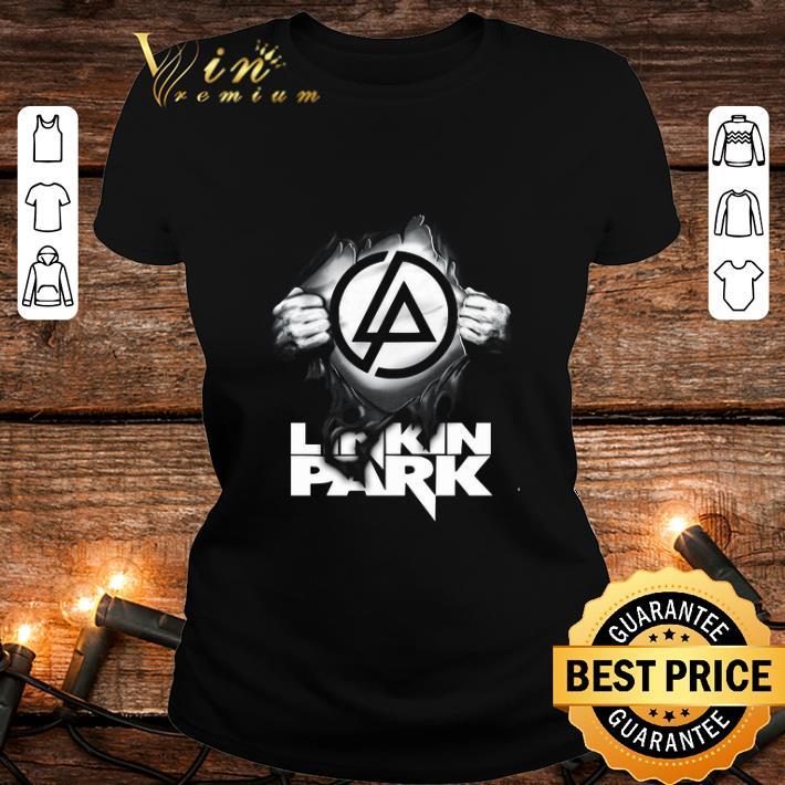 Linkin Park Logo blood inside me shirt