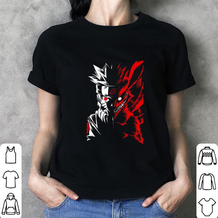 Naruto Uzumaki inside Kurama shirt