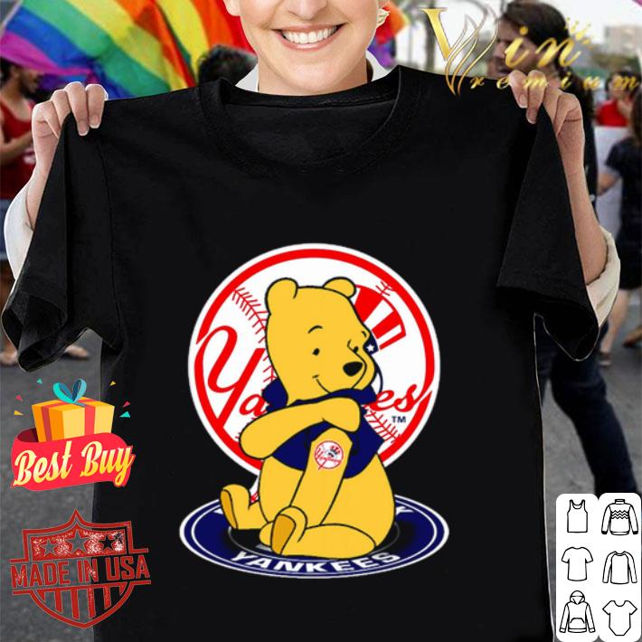 Pooh tattoos New York Yankees logo shirt