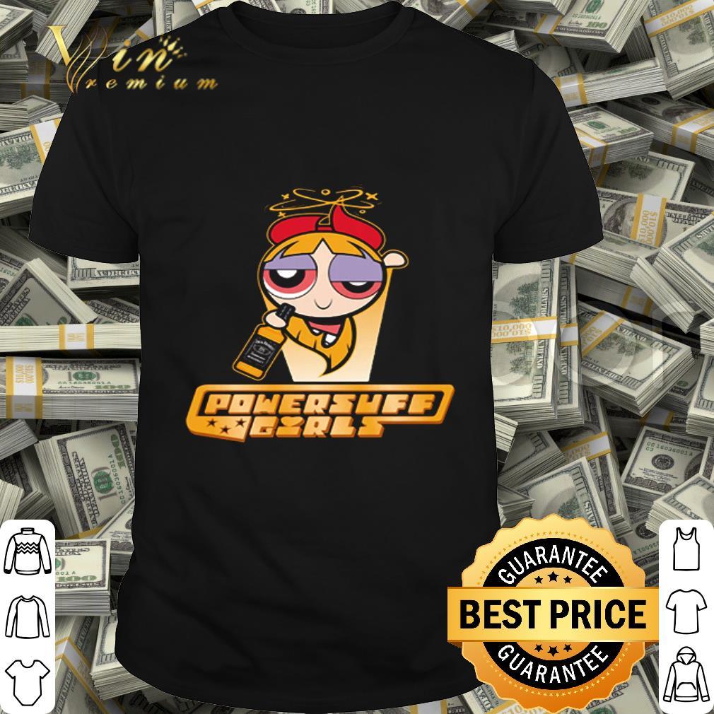 Powerpuff girls blossom drinking Jack Daniel's shirt