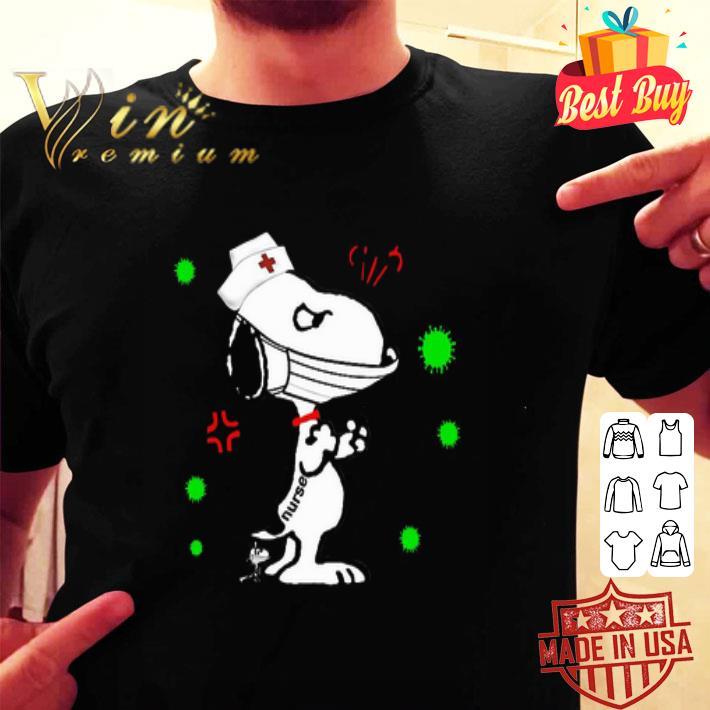 Snoopy Nurse Coronavirus shirt
