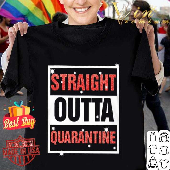 Straight Outta Quarantine Coronavirus shirt