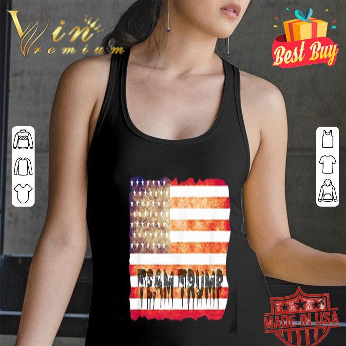 Team Trump American flag USA shirt
