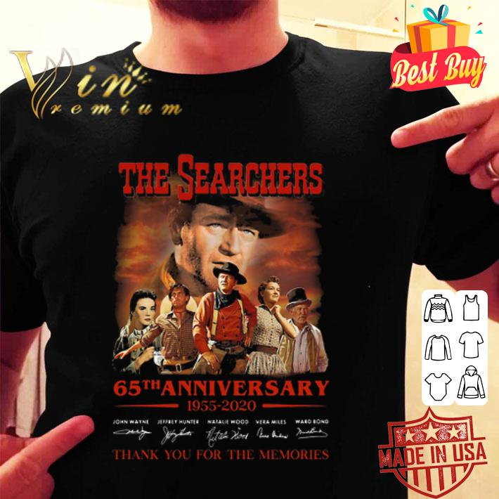 The Searchers 65th anniversary 1955-2020 signatures shirt