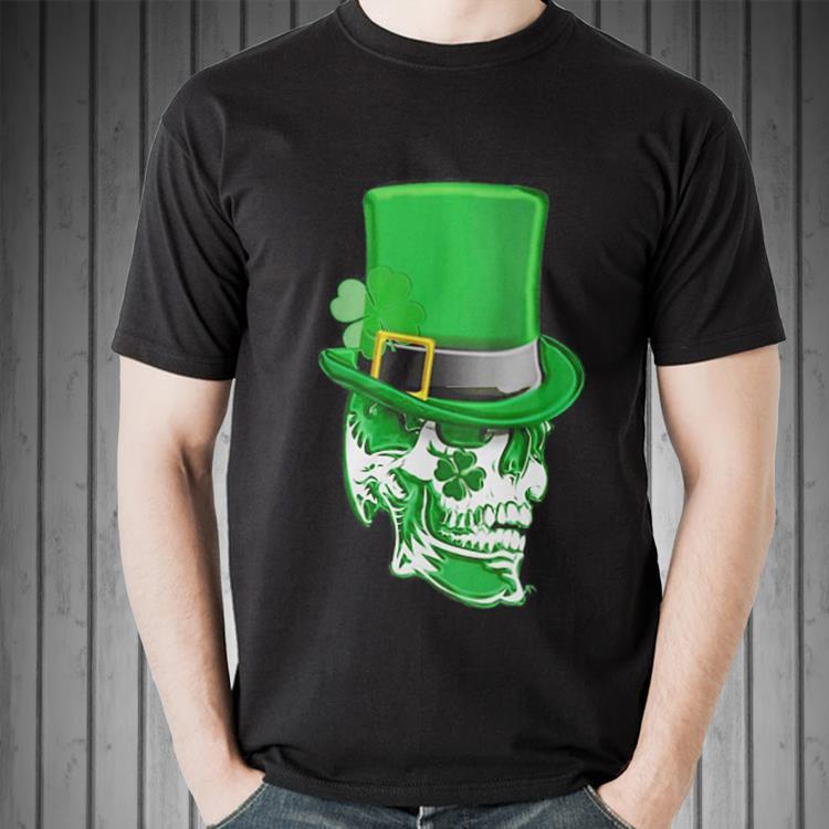 Top Clover Skull Saint Patrick's day shirt 2