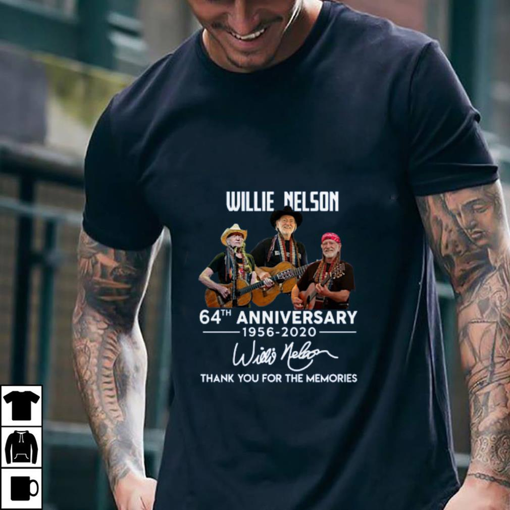 Willie Nelson 64th Anniversary 1956-2020 Signature Thank You For The Memories 2