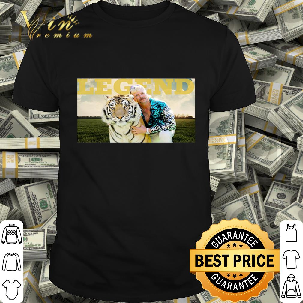2020 Legend Joe Exotic Tiger King shirt