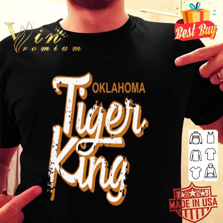 Joe Exotic Oklahoma Tiger King shirt