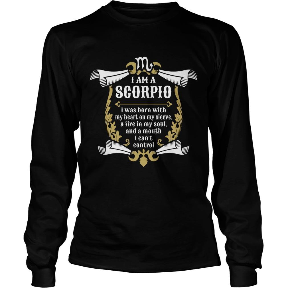 I'm A Scorpio Longsleeve