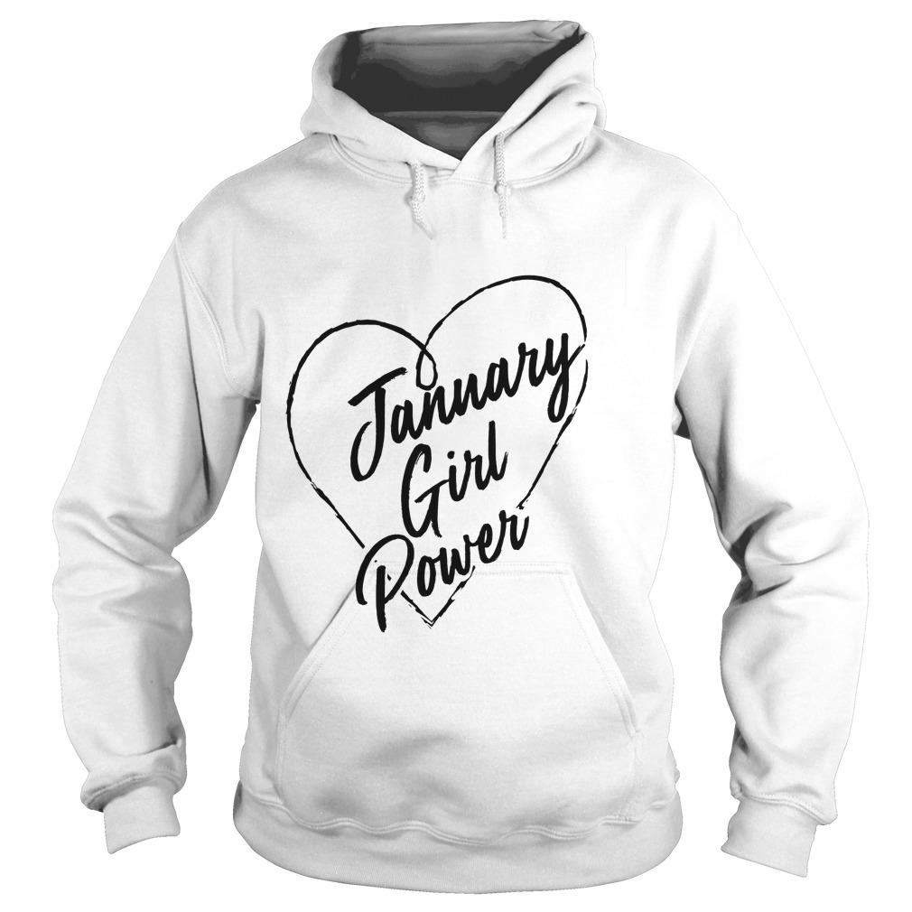 January Girl Power Hoodie