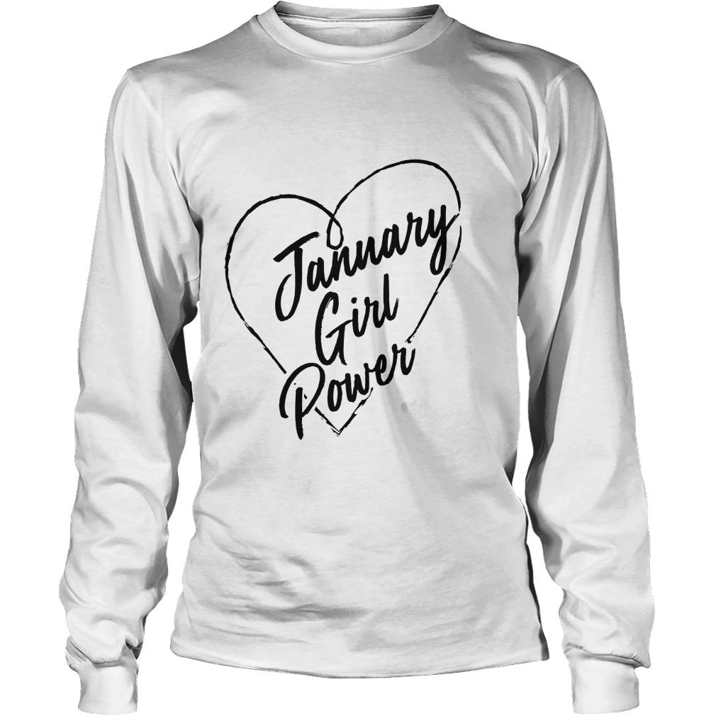 January Girl Power Longsleeve