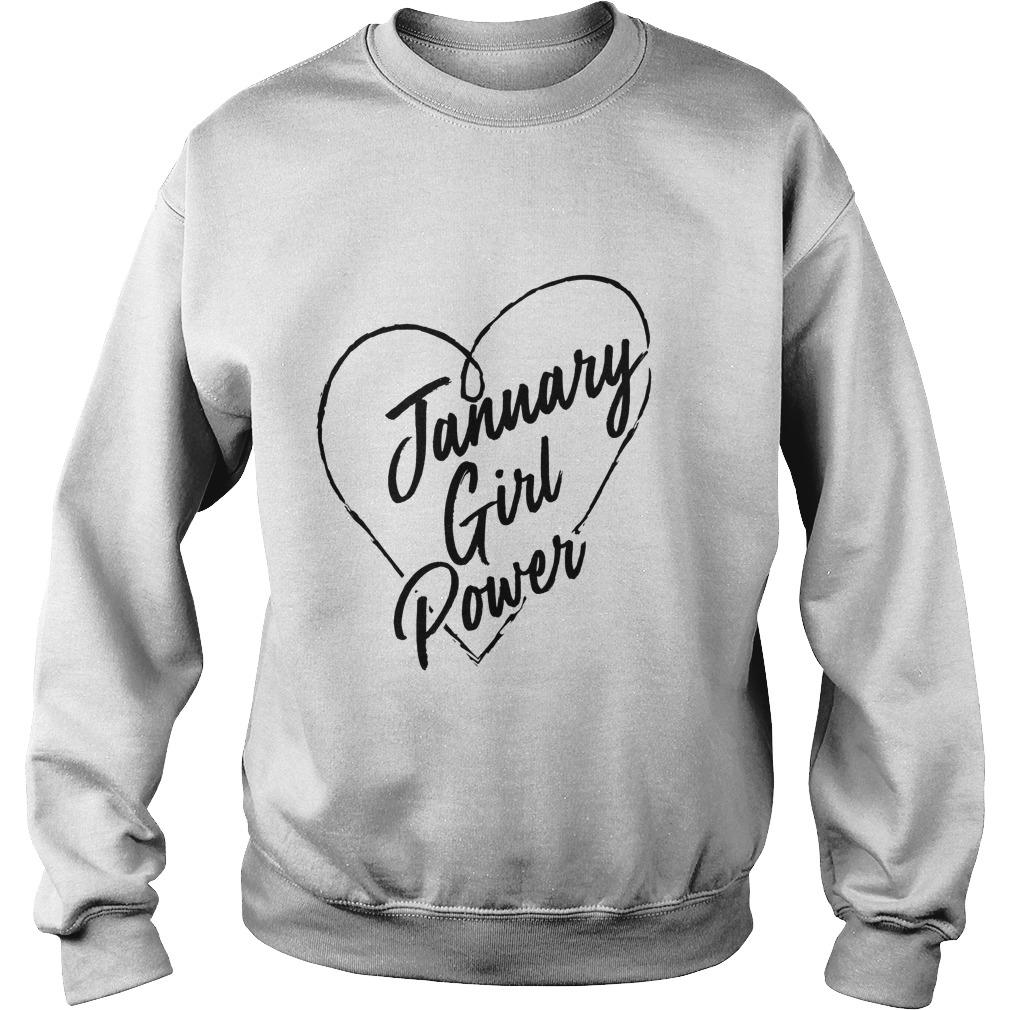 January Girl Power Sweater