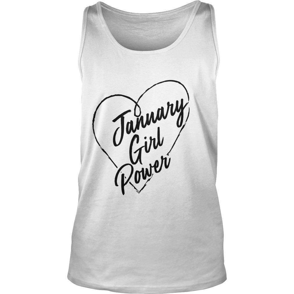 January Girl Power Tanktop