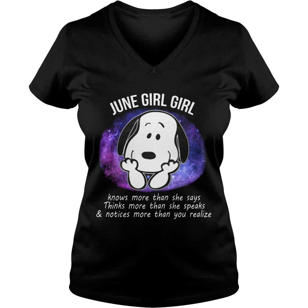 June Girl Power V Neck