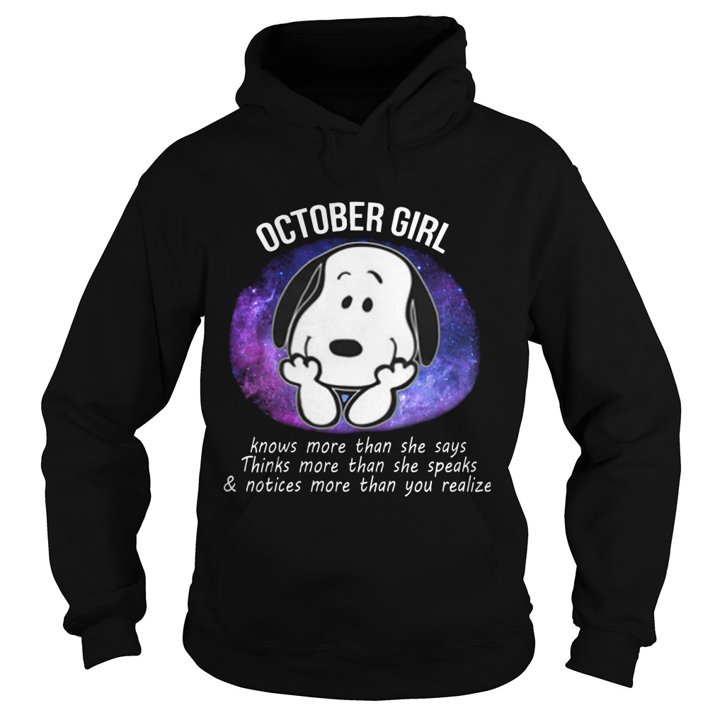 October Girl Power Hoodie