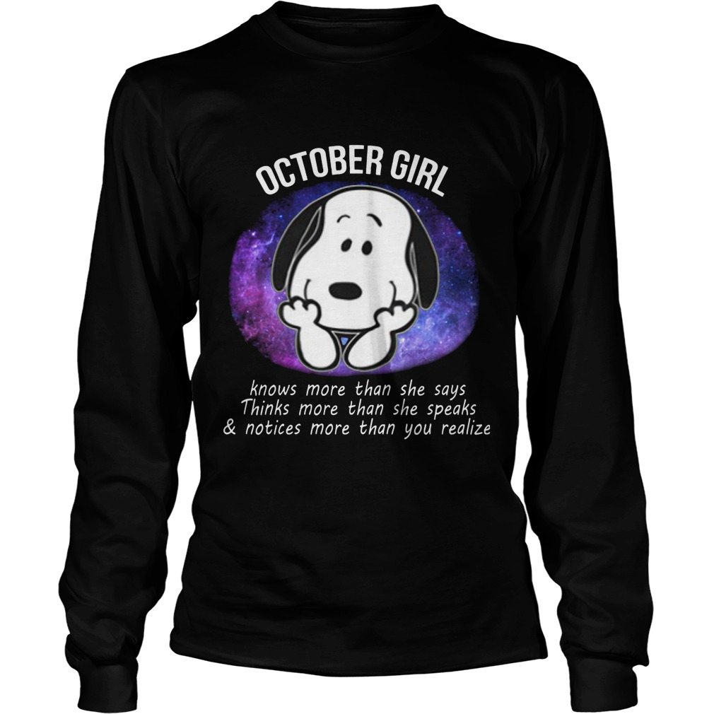 October Girl Power Longsleeve