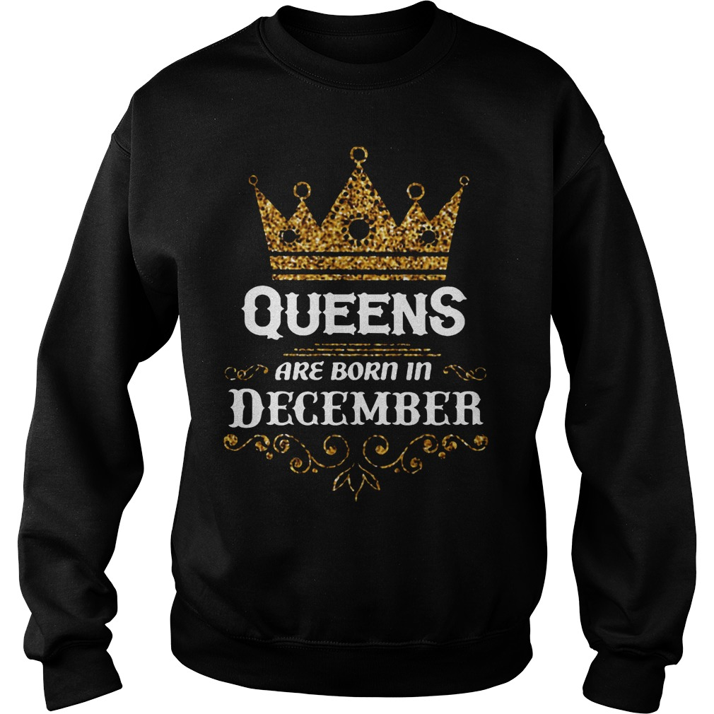 Queens Are Born In December Sweater