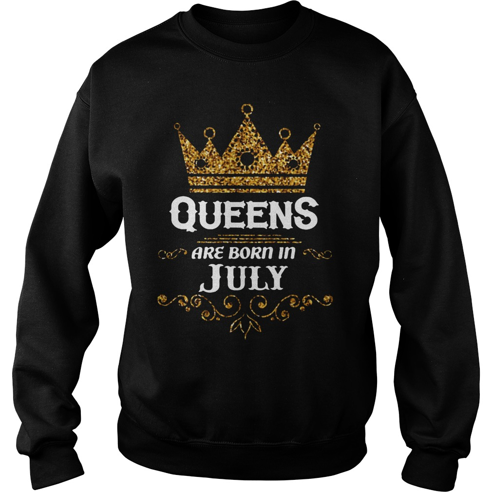 Queens Are Born In July Sweater