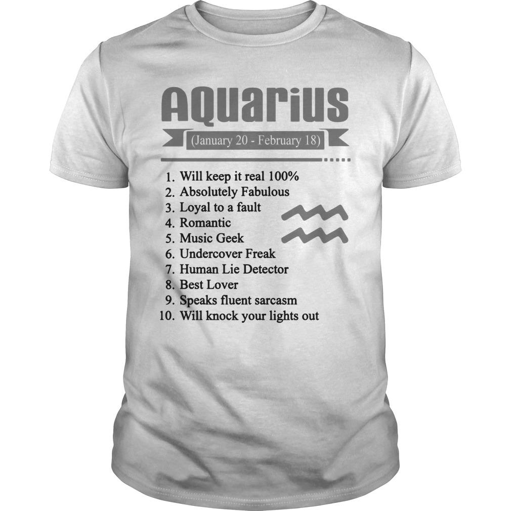 737978fc Aquarius Shirt
