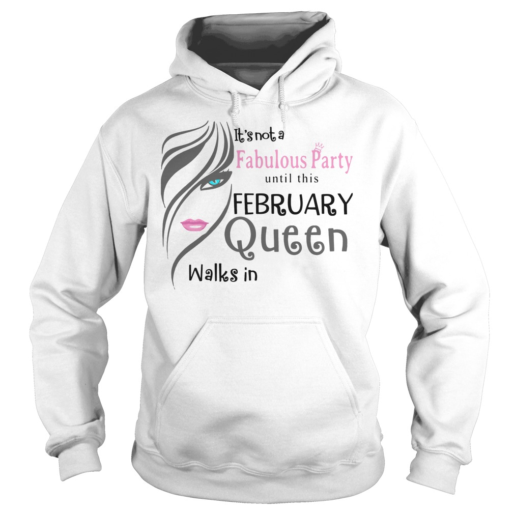 It's Not A Fabulous Party Until This February Queen Walks In Hoodie