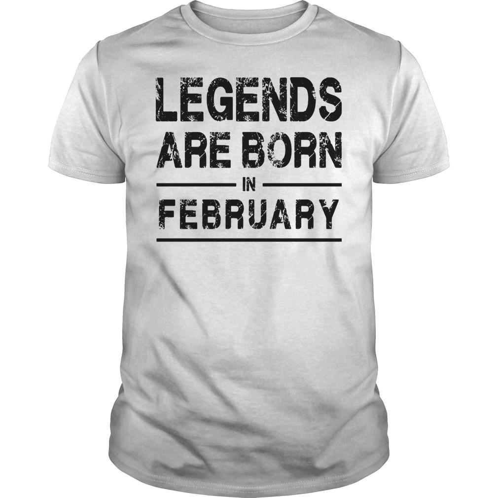 Legends In February Shirt