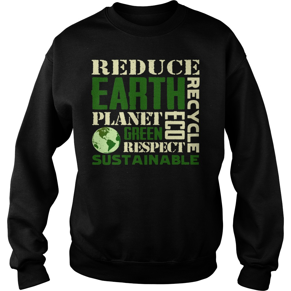 Earth Day Green Sustainable Sweater