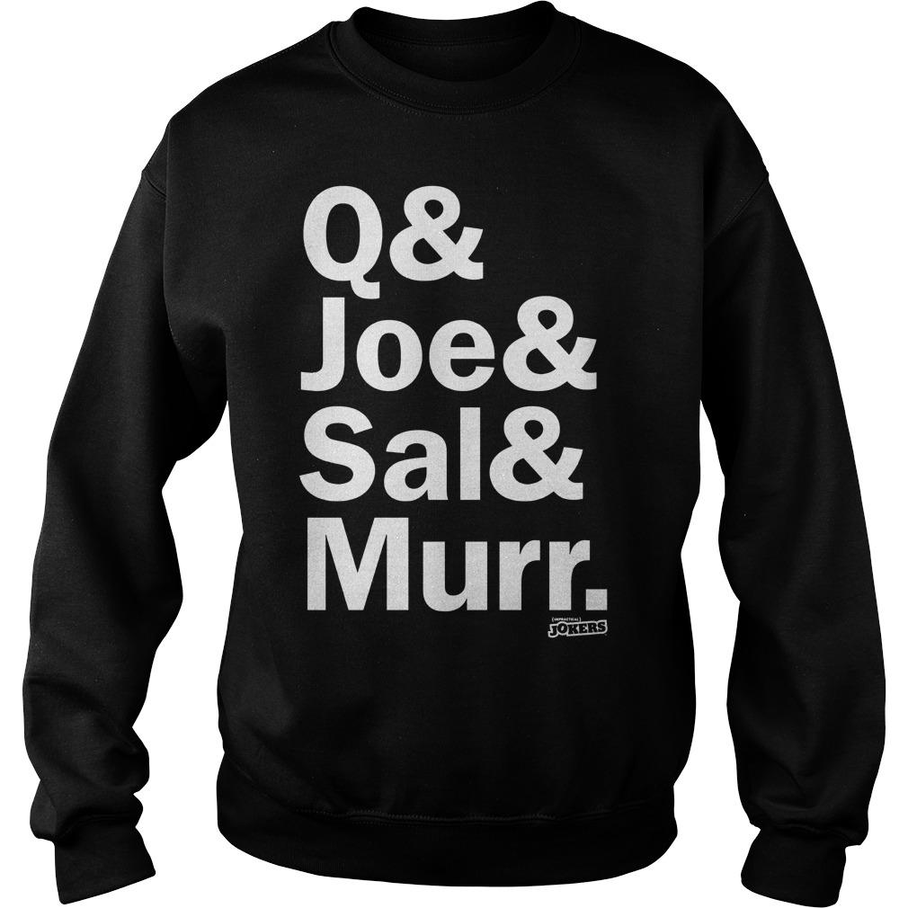Q Joe Sal & Murr Sweater