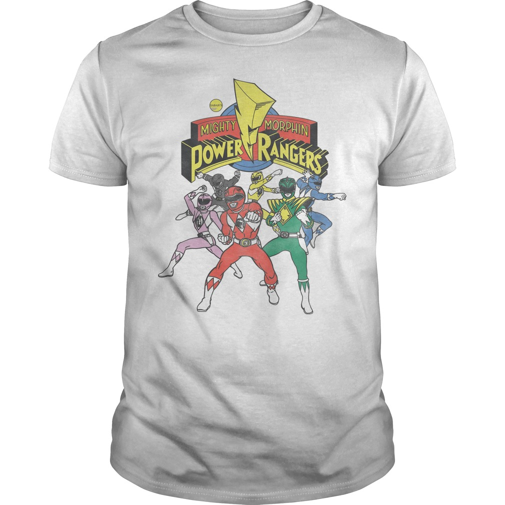 Retro Power Rangers Morphin Time Shirt
