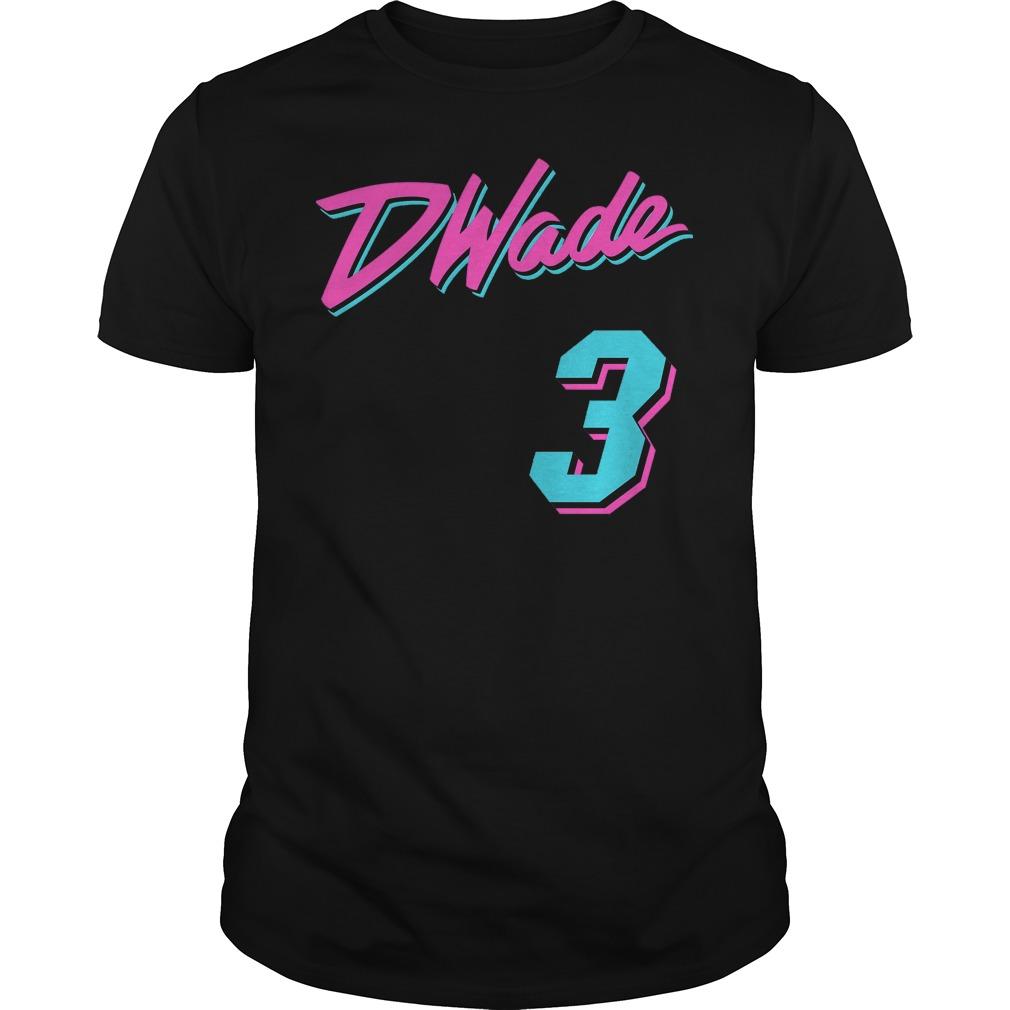 Vice Wade Jersey Script Dwade 3 Shirt