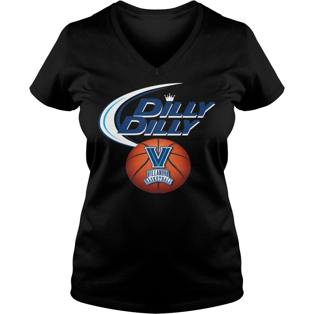 Villanova Wildcats Dilly Dilly V Neck