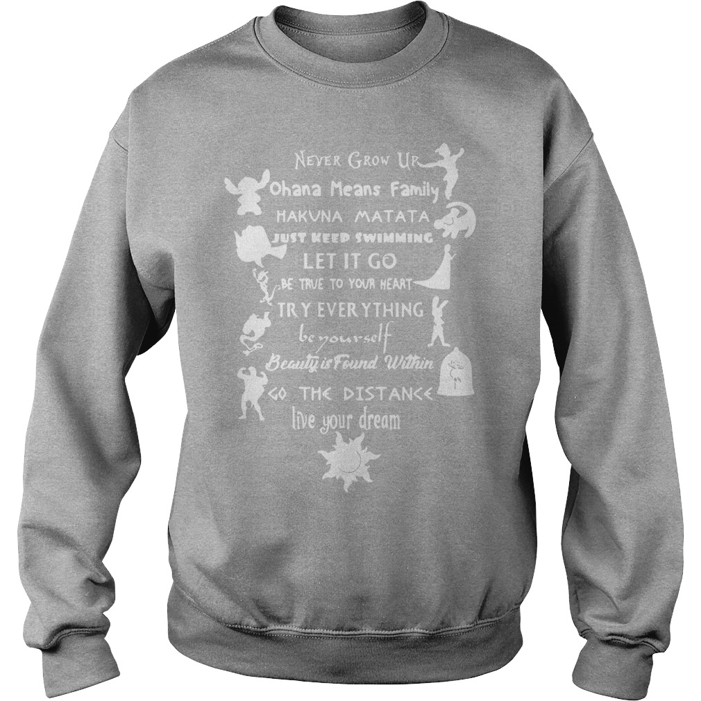 11 Best Disney Lessons Shirt Sweater