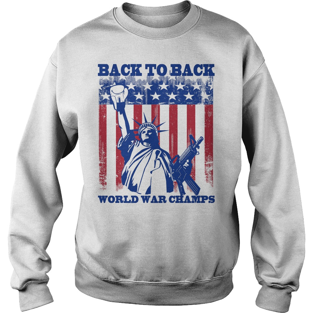 Back To Back World War Champs Sweater