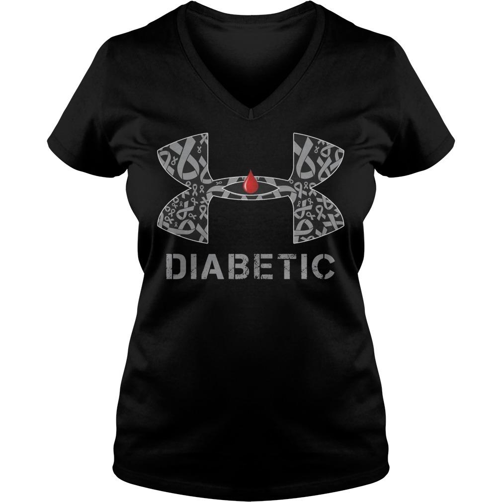 Cancer Diabetic Under Armour V Neck