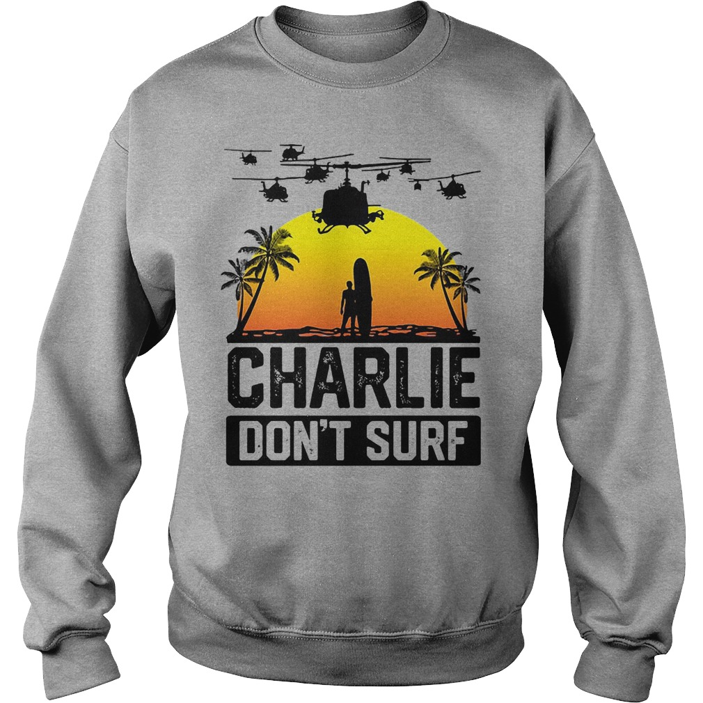 Charlie Don't Surf Sweater