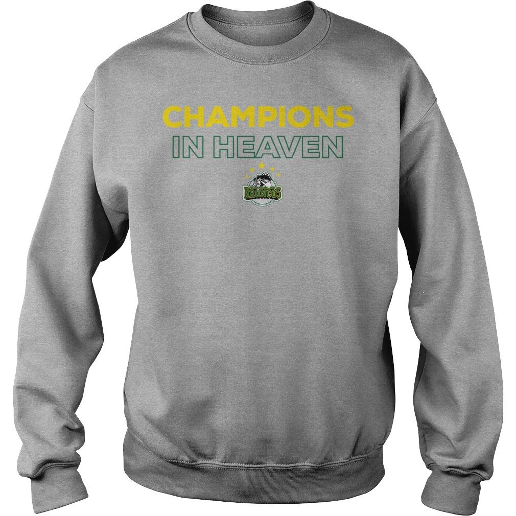 Humboldt Broncos Champion In Heaven Sweater