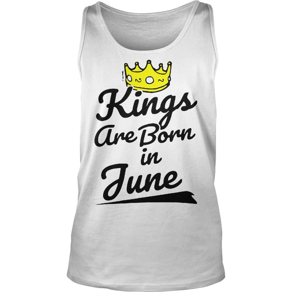 Kings Are Born In June Tanktop