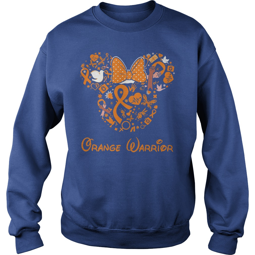 Mickey Mouse Orange Warrior Sweater
