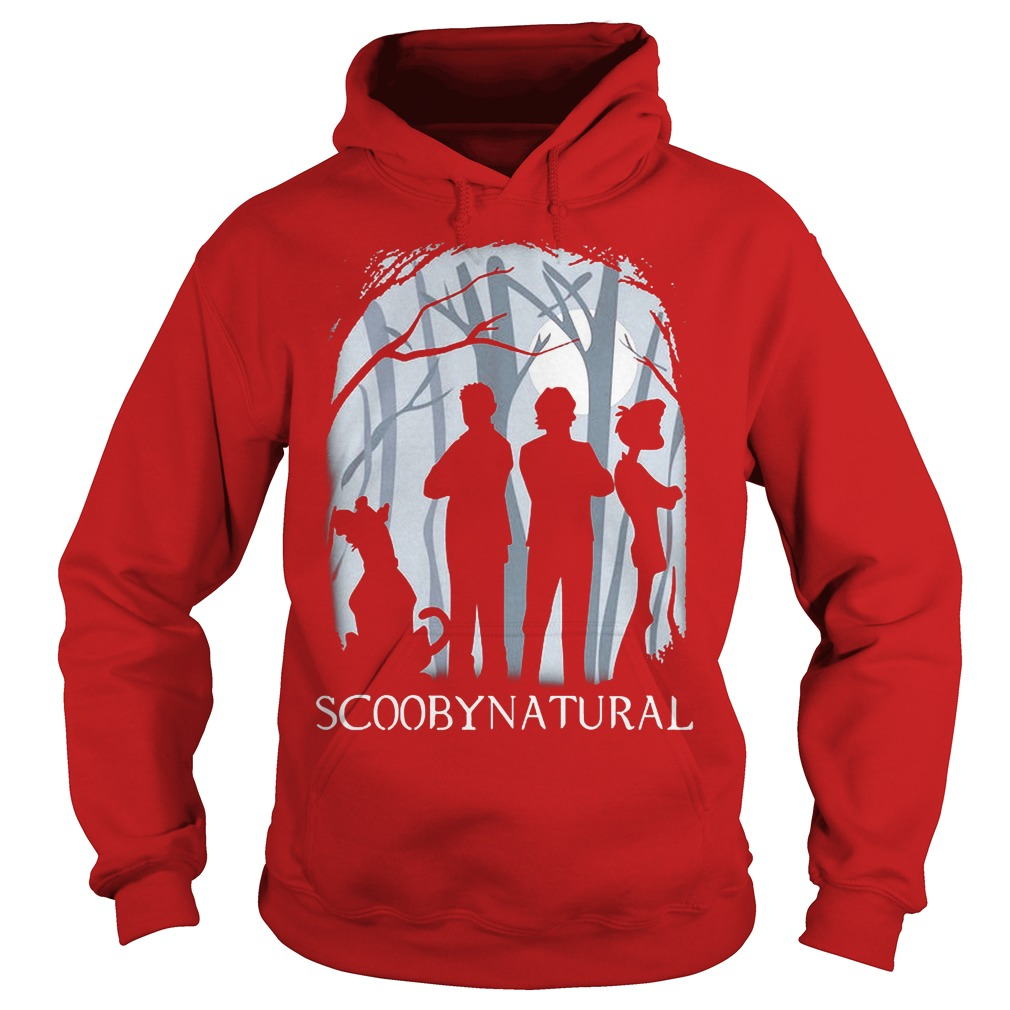 Scooby Natural In The Forest Hoodie