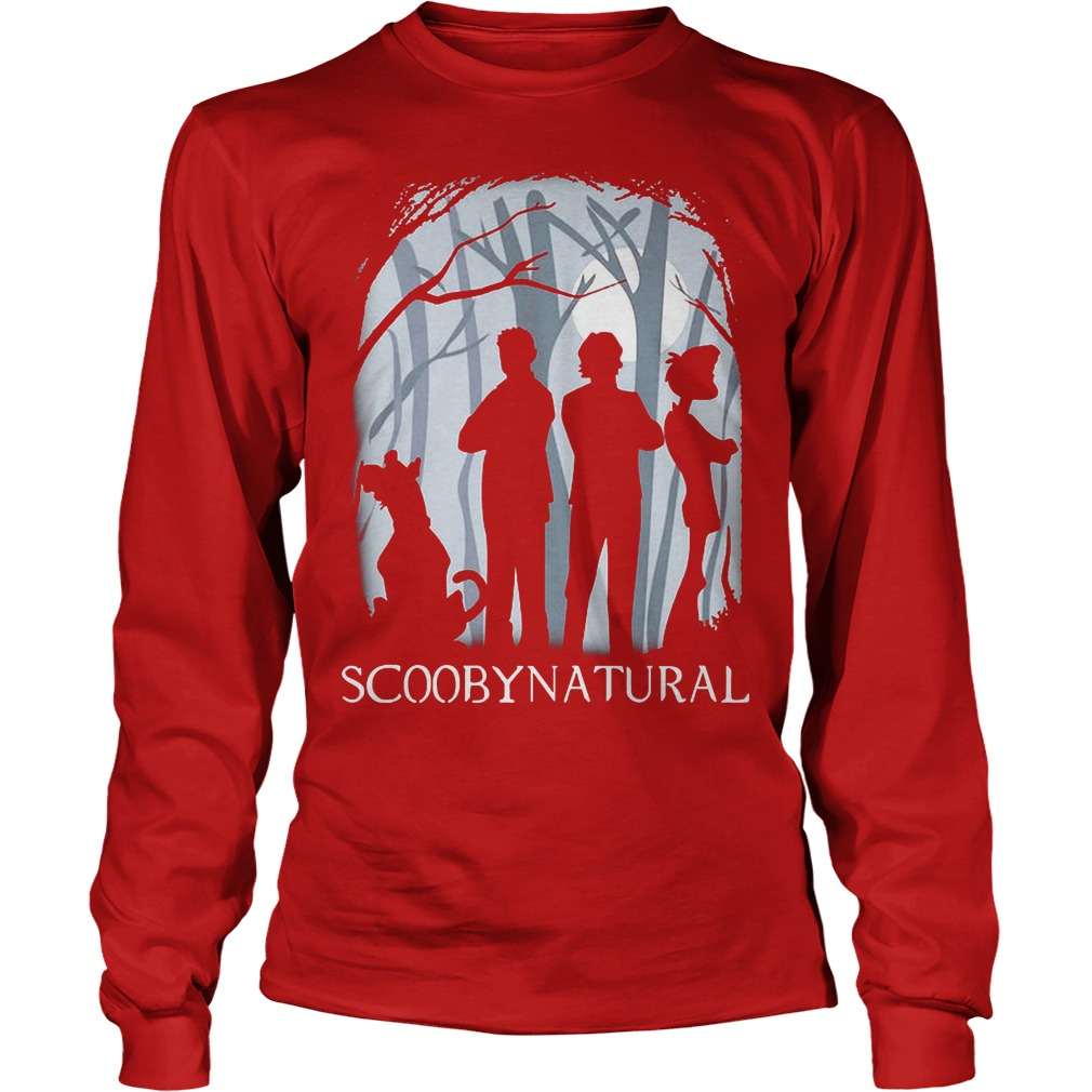 Scooby Natural In The Forest Longsleeve