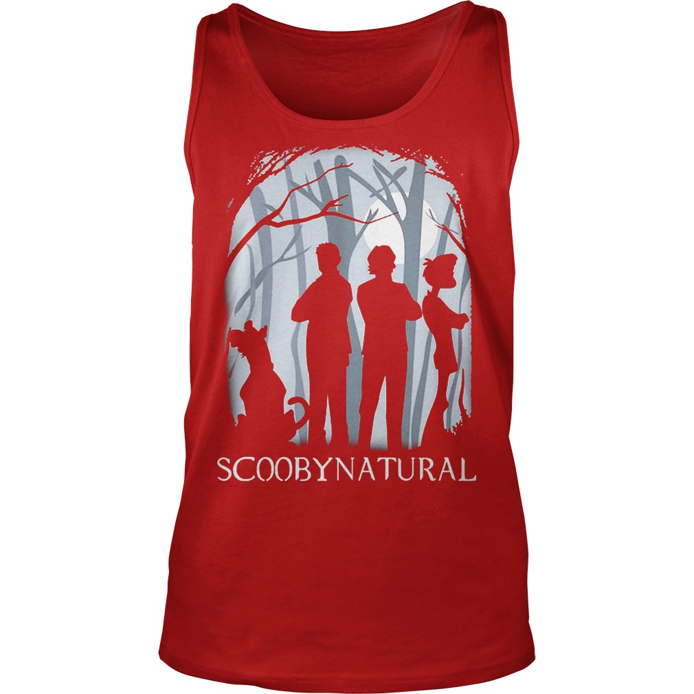 Scooby Natural In The Forest Tanktop