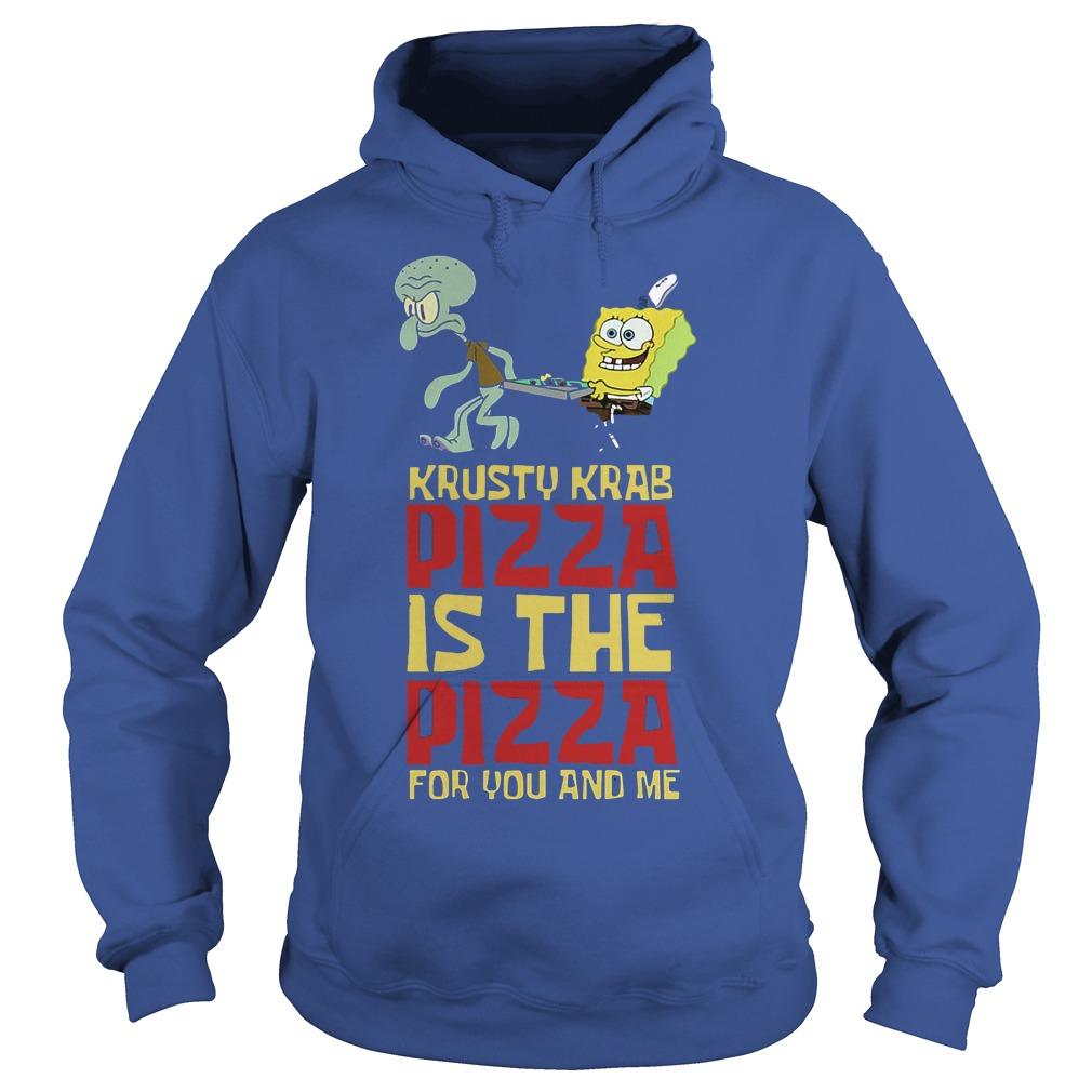 Spongebob Squarepant Krusty Krab Pizza Shirt Hoodie
