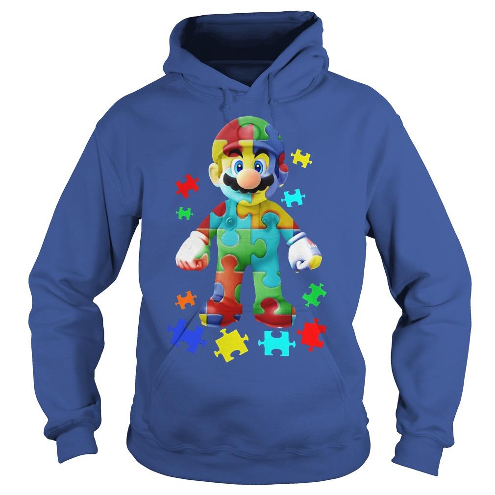 Super Mario Autism Awareness Shirt Hoodie