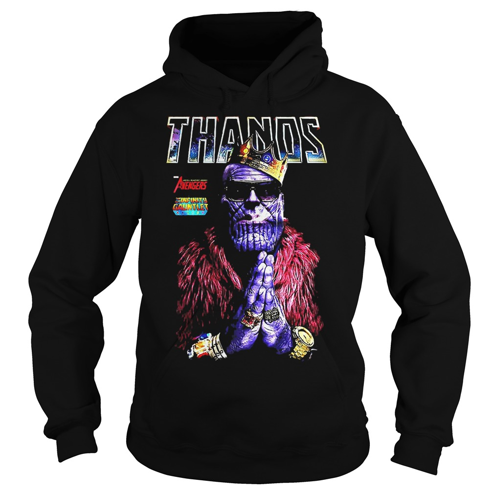 Thanos King Of Golden Hoodie